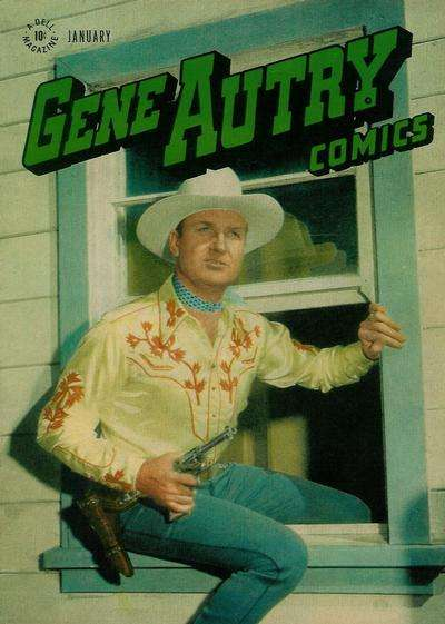Gene Autry Comics #11 comic books - cover scans photos Gene Autry Comics #11 comic books - covers, picture gallery