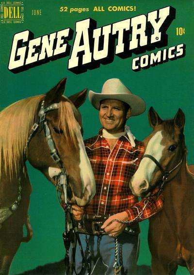 Gene Autry Comics #40 comic books - cover scans photos Gene Autry Comics #40 comic books - covers, picture gallery