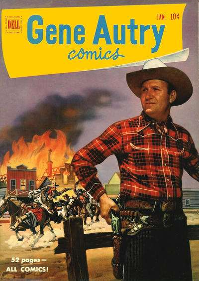 Gene Autry Comics #47 comic books - cover scans photos Gene Autry Comics #47 comic books - covers, picture gallery