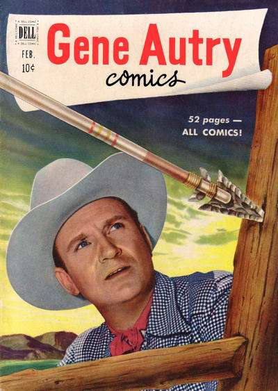 Gene Autry Comics #48 comic books - cover scans photos Gene Autry Comics #48 comic books - covers, picture gallery