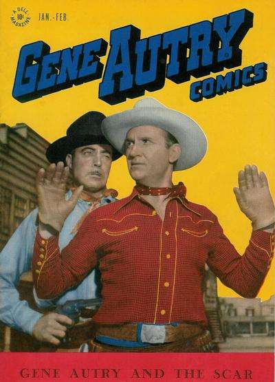 Gene Autry Comics #5 comic books - cover scans photos Gene Autry Comics #5 comic books - covers, picture gallery