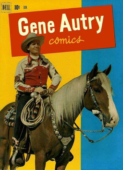 Gene Autry Comics #59 comic books - cover scans photos Gene Autry Comics #59 comic books - covers, picture gallery