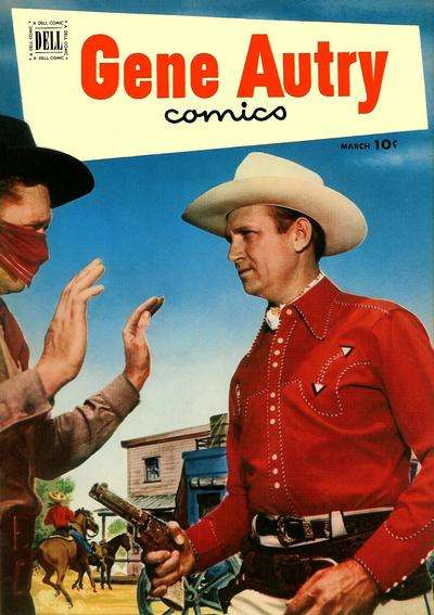Gene Autry Comics #61 comic books - cover scans photos Gene Autry Comics #61 comic books - covers, picture gallery