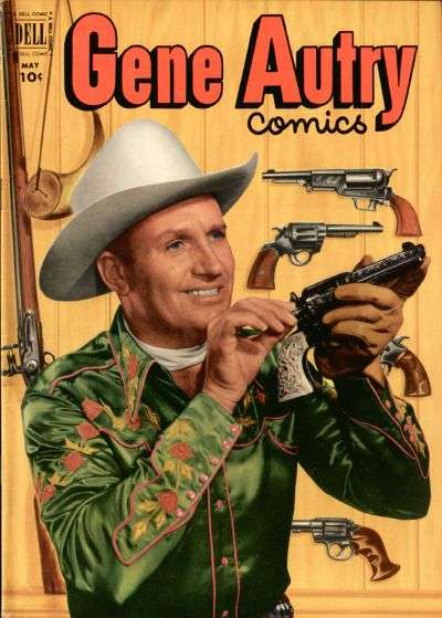 Gene Autry Comics #63 comic books - cover scans photos Gene Autry Comics #63 comic books - covers, picture gallery