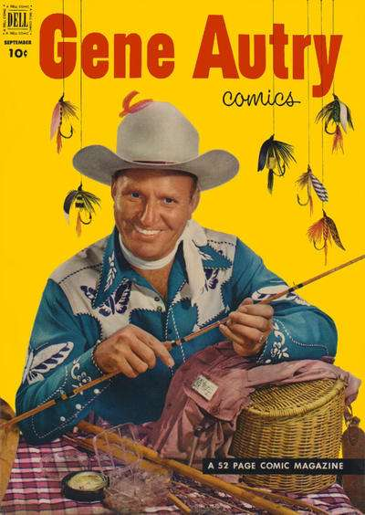 Gene Autry Comics #67 comic books for sale