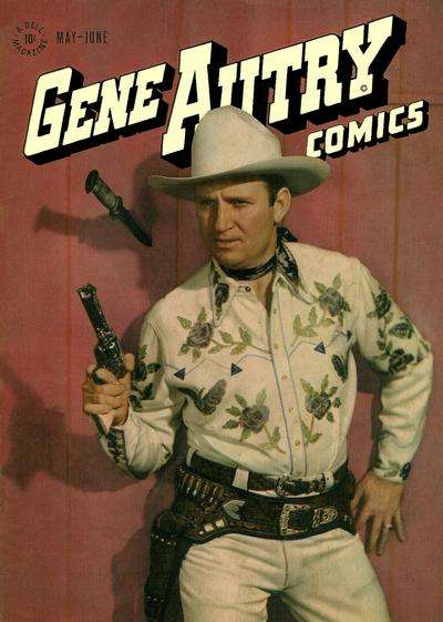 Gene Autry Comics #7 comic books - cover scans photos Gene Autry Comics #7 comic books - covers, picture gallery