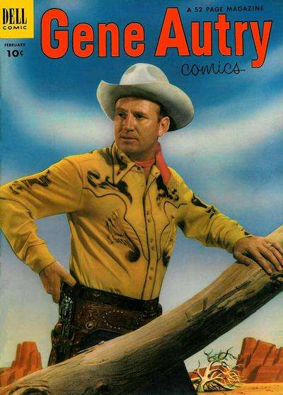 Gene Autry Comics #72 comic books - cover scans photos Gene Autry Comics #72 comic books - covers, picture gallery