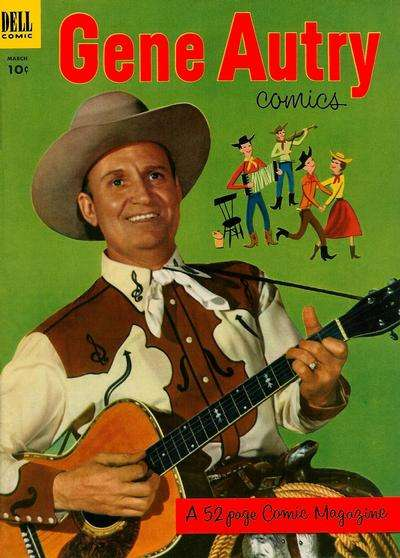 Gene Autry Comics #73 comic books - cover scans photos Gene Autry Comics #73 comic books - covers, picture gallery
