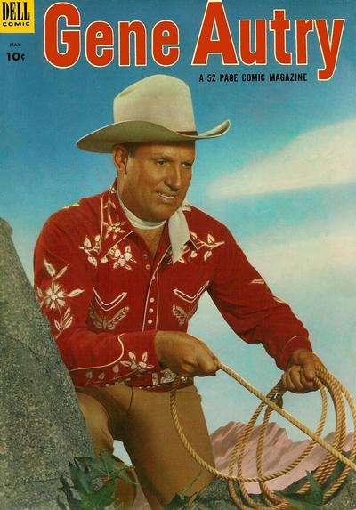 Gene Autry Comics #75 comic books - cover scans photos Gene Autry Comics #75 comic books - covers, picture gallery