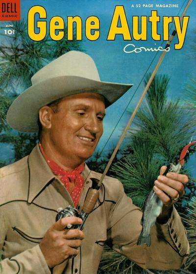 Gene Autry Comics #76 comic books - cover scans photos Gene Autry Comics #76 comic books - covers, picture gallery