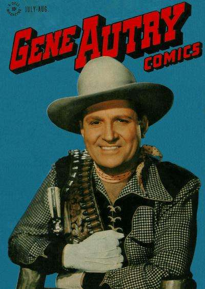 Gene Autry Comics #8 comic books - cover scans photos Gene Autry Comics #8 comic books - covers, picture gallery