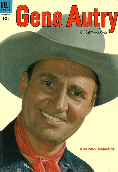 Gene Autry Comics #81 comic books - cover scans photos Gene Autry Comics #81 comic books - covers, picture gallery