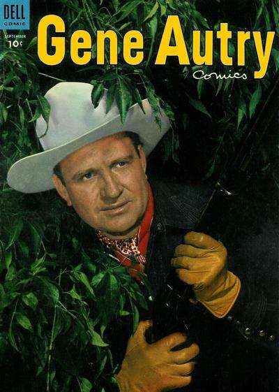 Gene Autry Comics #91 comic books - cover scans photos Gene Autry Comics #91 comic books - covers, picture gallery