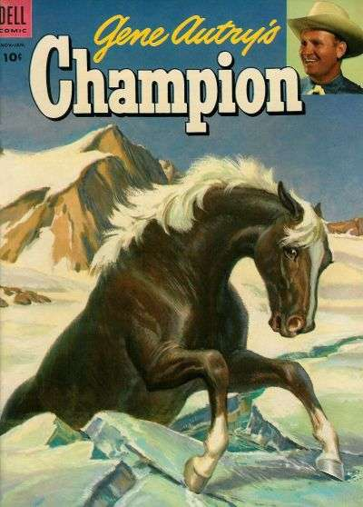 Gene Autry's Champion #12 Comic Books - Covers, Scans, Photos  in Gene Autry's Champion Comic Books - Covers, Scans, Gallery