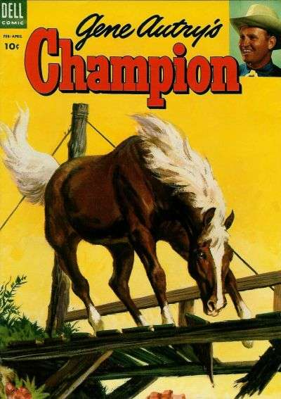 Gene Autry's Champion #13 Comic Books - Covers, Scans, Photos  in Gene Autry's Champion Comic Books - Covers, Scans, Gallery
