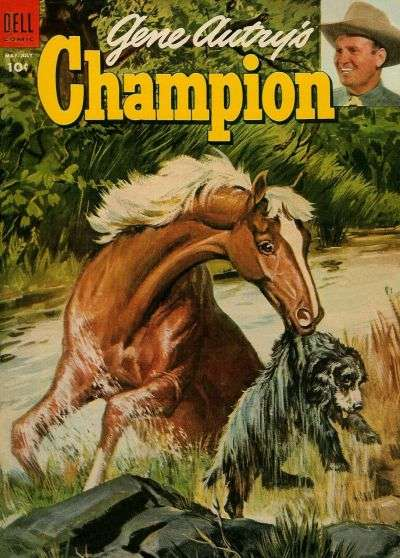 Gene Autry's Champion #14 Comic Books - Covers, Scans, Photos  in Gene Autry's Champion Comic Books - Covers, Scans, Gallery