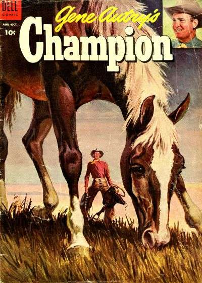 Gene Autry's Champion #15 Comic Books - Covers, Scans, Photos  in Gene Autry's Champion Comic Books - Covers, Scans, Gallery
