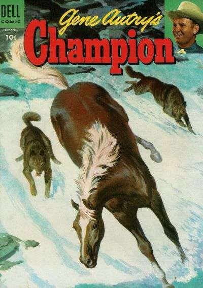Gene Autry's Champion #17 Comic Books - Covers, Scans, Photos  in Gene Autry's Champion Comic Books - Covers, Scans, Gallery