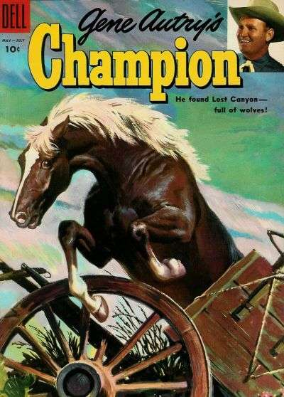 Gene Autry's Champion #18 Comic Books - Covers, Scans, Photos  in Gene Autry's Champion Comic Books - Covers, Scans, Gallery