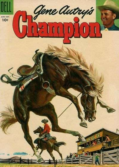 Gene Autry's Champion #19 Comic Books - Covers, Scans, Photos  in Gene Autry's Champion Comic Books - Covers, Scans, Gallery