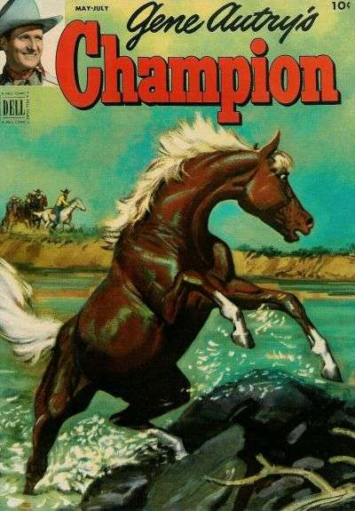 Gene Autry's Champion #6 Comic Books - Covers, Scans, Photos  in Gene Autry's Champion Comic Books - Covers, Scans, Gallery