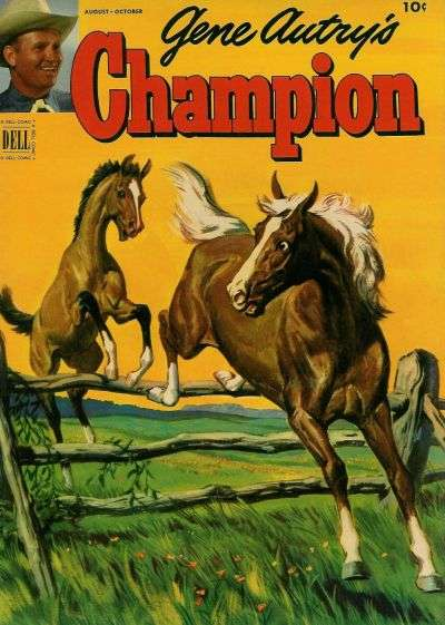 Gene Autry's Champion #7 Comic Books - Covers, Scans, Photos  in Gene Autry's Champion Comic Books - Covers, Scans, Gallery
