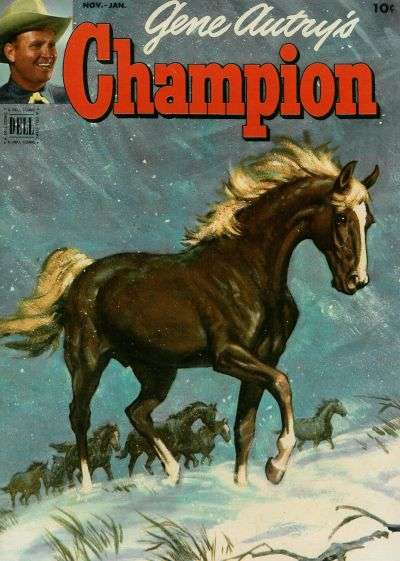 Gene Autry's Champion #8 Comic Books - Covers, Scans, Photos  in Gene Autry's Champion Comic Books - Covers, Scans, Gallery