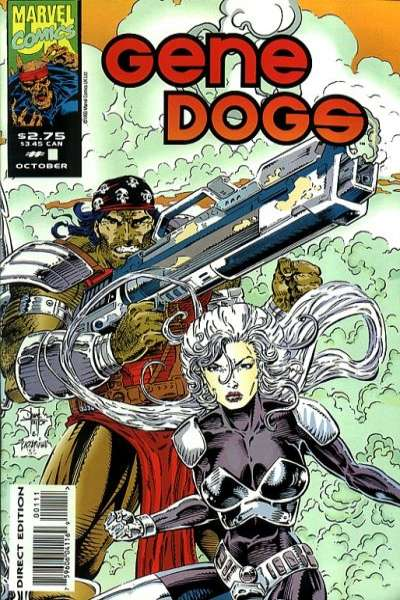 Gene Dogs #1 Comic Books - Covers, Scans, Photos  in Gene Dogs Comic Books - Covers, Scans, Gallery