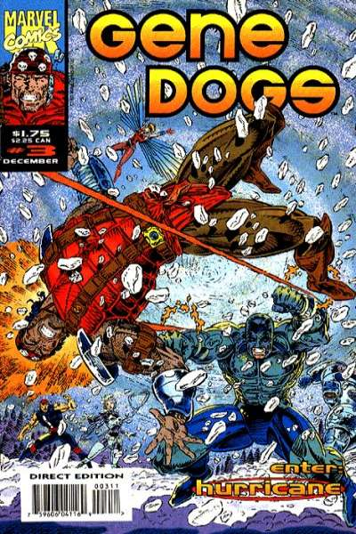 Gene Dogs #3 comic books - cover scans photos Gene Dogs #3 comic books - covers, picture gallery