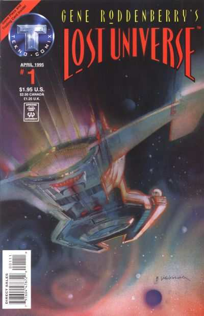 Gene Roddenberry's Lost Universe #1 comic books - cover scans photos Gene Roddenberry's Lost Universe #1 comic books - covers, picture gallery