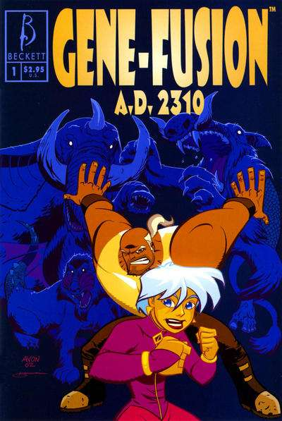 Gene-Fusion A.D. 2310 #1 comic books for sale