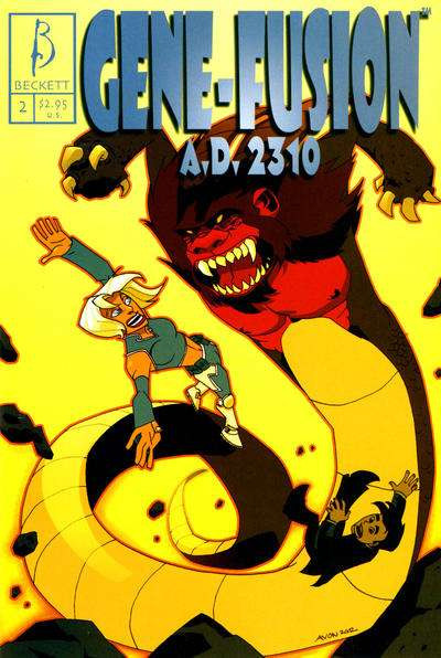 Gene-Fusion A.D. 2310 #2 comic books for sale