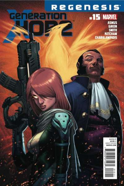 Generation Hope #15 comic books for sale