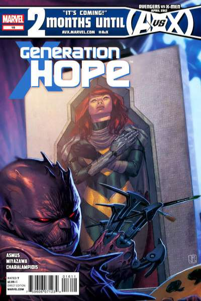 Generation Hope #16 comic books for sale
