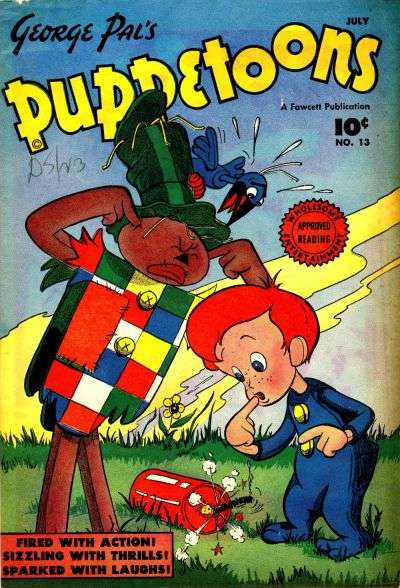 George Pal's Puppetoons #13 comic books - cover scans photos George Pal's Puppetoons #13 comic books - covers, picture gallery