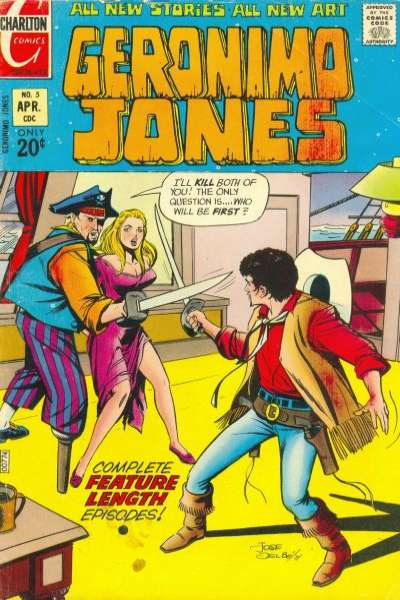 Geronimo Jones #5 comic books for sale