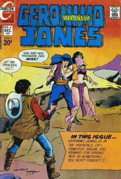 Geronimo Jones #8 comic books for sale