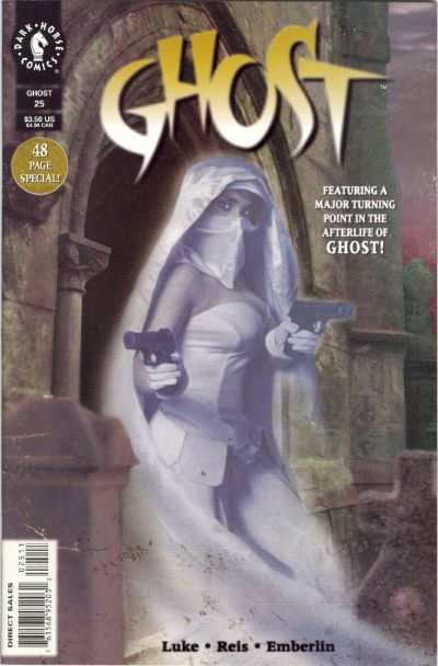 Ghost #25 comic books for sale