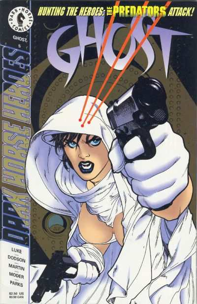 Ghost #5 comic books for sale