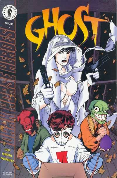 Ghost #7 comic books for sale