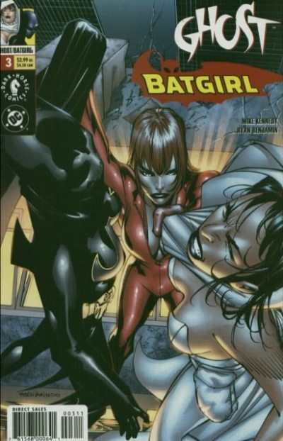 Ghost/Batgirl #3 comic books - cover scans photos Ghost/Batgirl #3 comic books - covers, picture gallery