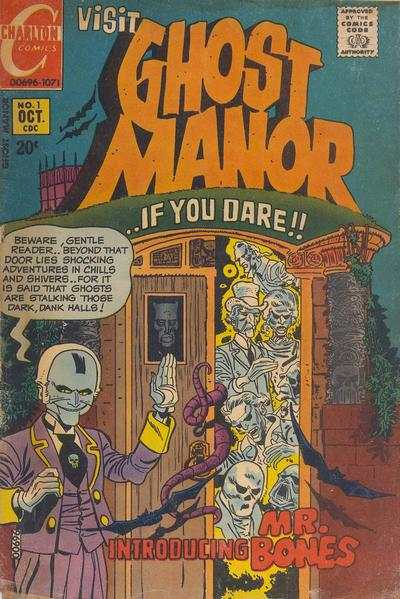 Ghost Manor comic books