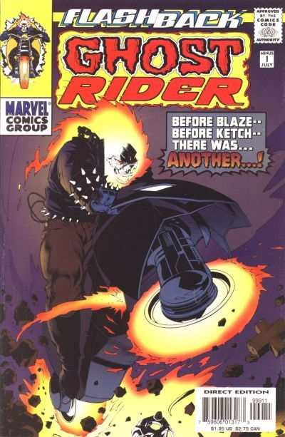 Ghost Rider #-1 comic books - cover scans photos Ghost Rider #-1 comic books - covers, picture gallery