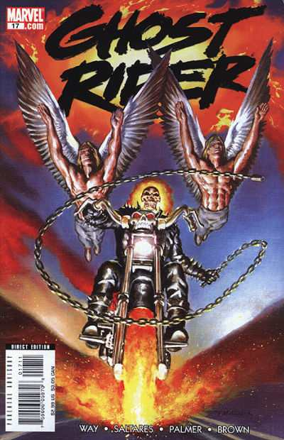 Ghost Rider #17 comic books - cover scans photos Ghost Rider #17 comic books - covers, picture gallery