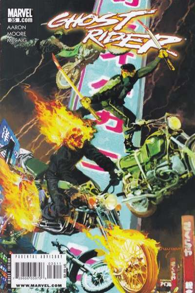 Ghost Rider #35 Comic Books - Covers, Scans, Photos  in Ghost Rider Comic Books - Covers, Scans, Gallery