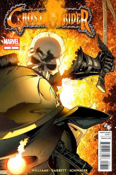 Ghost Rider #8 comic books for sale