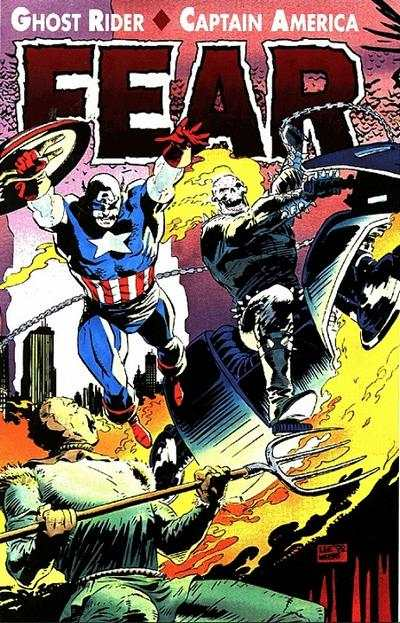 Ghost Rider/Captain America: Fear #1 comic books - cover scans photos Ghost Rider/Captain America: Fear #1 comic books - covers, picture gallery