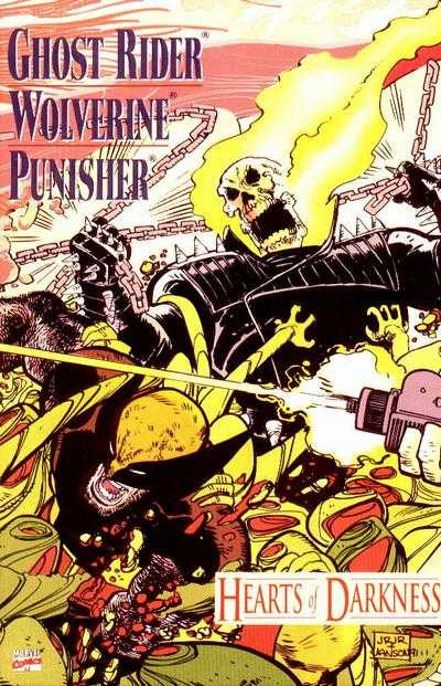 Ghost Rider/Wolverine/Punisher: Hearts of Darkness #1 comic books - cover scans photos Ghost Rider/Wolverine/Punisher: Hearts of Darkness #1 comic books - covers, picture gallery