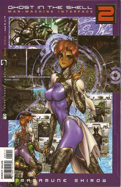 Ghost in the Shell 2: Man-Machine Interface #5 comic books for sale