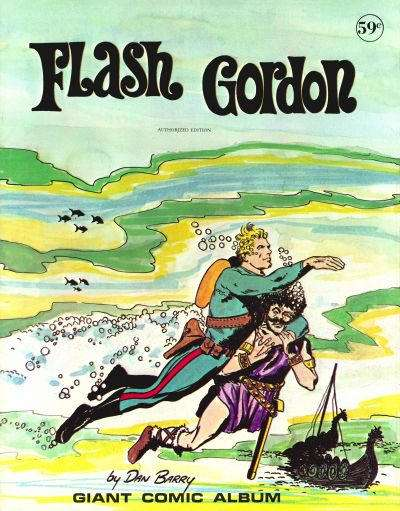 Giant Comic Album: Flash Gordon #1 comic books for sale